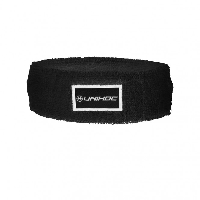 HEADBAND TERRY MID BLACK