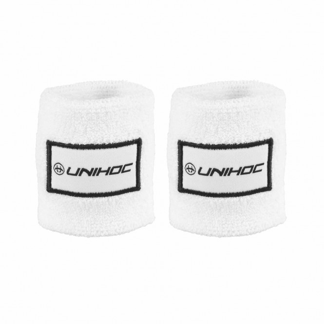 WRISTBAND TERRY 2-PACK WHITE