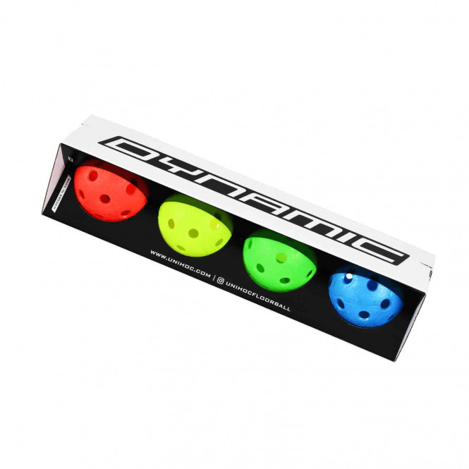BALL DYNAMIC 4-PACK 4 COLOURS