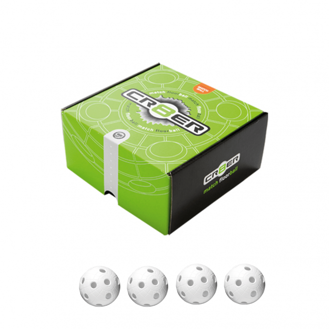 BALL CRATER WHITE 4-PACK